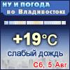 Ну и погода во Владивостоке - Поминутный прогноз погоды
